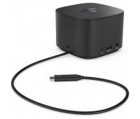 Док-станция HP Thunderbolt 120Вт (USB-C, 3.0, VGA, DP, RJ-45, AC, аудио) (2UK37AA#ABB)
