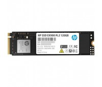 Твердотельный диск 120 Гб HP EX900 M.2, NVMe 3D TLC [R/W - 1900/650 MB/s] (2YY42AA)