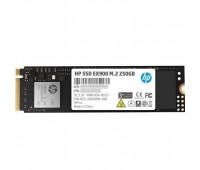 Твердотельный диск 250 Гб HP EX900 M.2, NVMe 3D TLC [R/W - 2100/1300 MB/s] (2YY43AA)