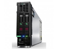 Блейд-сервер HPE ProLiant BL460c Gen10/ 2x Xeon 5120 Gold/ 64GB/ P204i-bFBWC (1GB/RAID0/1/10/5/6)/ noHDD(2 SFF)/ noODD/ iLOstd/ 2x 10Gb FlexLOM (536FLB) (863446-B21)
