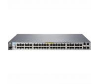 "Коммутатор HP 2530-48-PoE+ Switch (48 x 10/ 100 + 2 x SFP + 2 x 10/ 100/ 1000, Managed, L2, virtual stacking, POE+ 382W, 19"") (J9778A#ABB)"